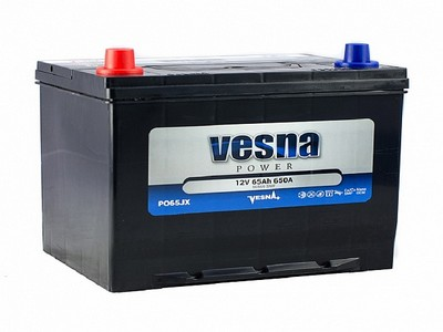 Аккумулятор Vesna Power 65Ah 650A R+ Asia 415865