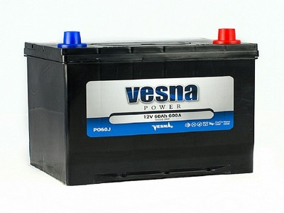 Аккумулятор Vesna Power 60Ah 600A R+ Asia 415060