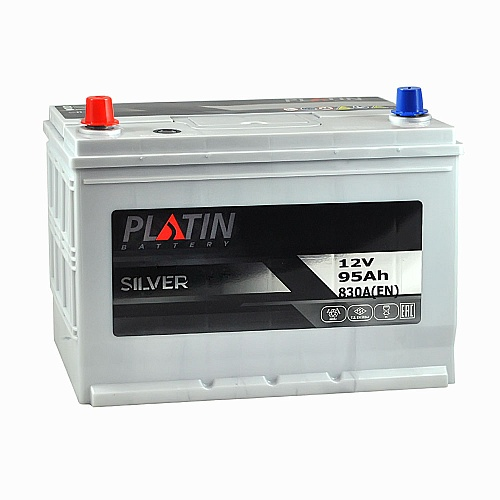 Акумулятор Platin Silver 95Ah 830A L+ Asia 5902257
