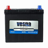 Аккумулятор Vesna Power 45Ah 400A R+ Asia